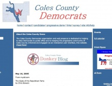 Coles County Democrats website