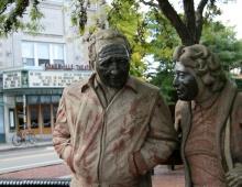 Davis Square Statues #4