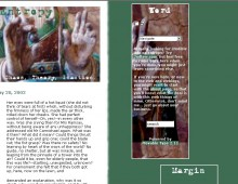 Entropy Blog Design, Summer 2002.