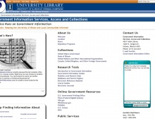 University of Illinois Libraries – Government Information Virtual Library – 2012