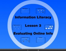 Information Literacy Curriculum – 2011