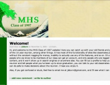 MHS Class of 1997 Website