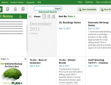 Evernote Usability Engineering Lifecycle Project – 2011